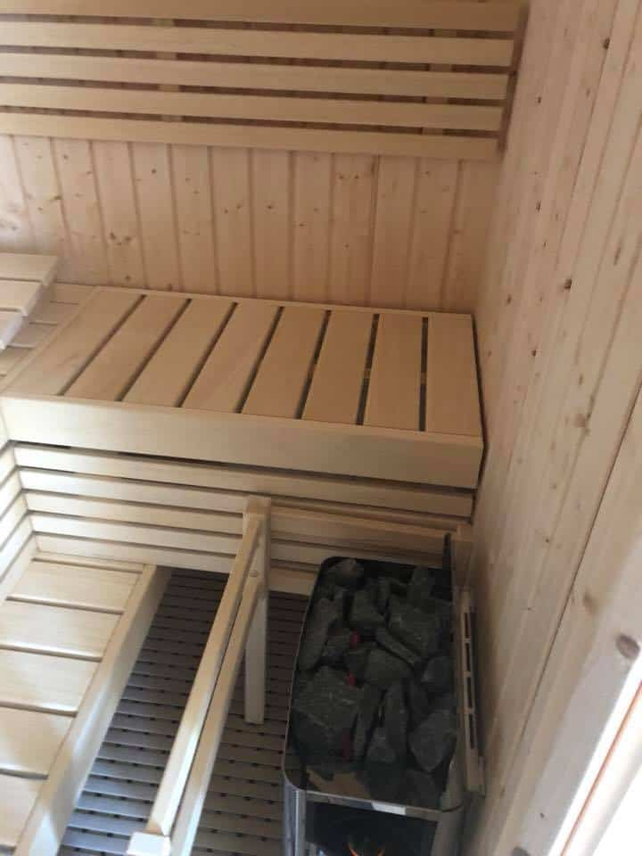 Sauna dans les Hautes-Alpes